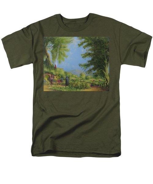 Evening In The Shire. Men's T-Shirt  (Regular Fit) by Joe  Gilronan
