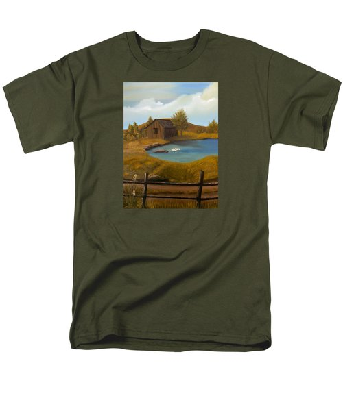 Evening Solitude Men's T-Shirt  (Regular Fit) by Sheri Keith