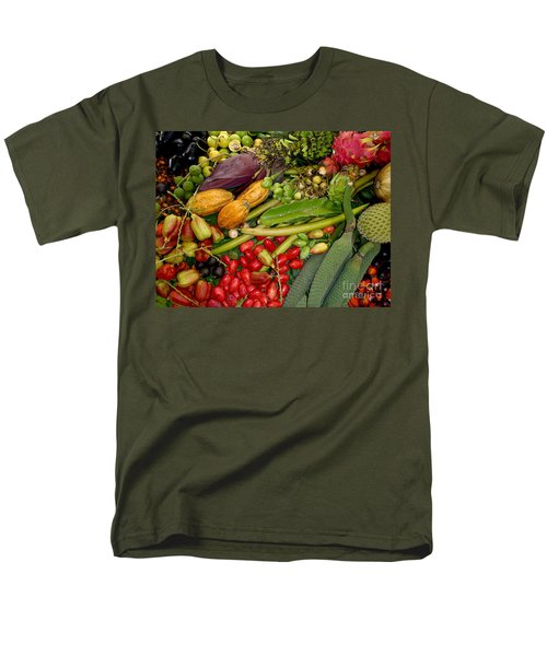 Exotic Fruits Men's T-Shirt  (Regular Fit) by Carey Chen