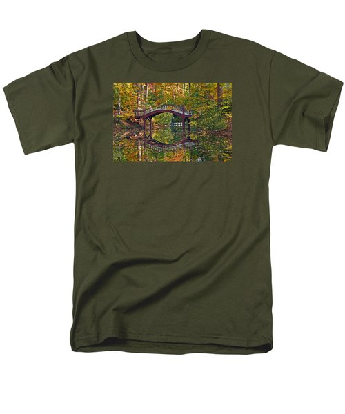 Fall Reflections At Crim Dell Men's T-Shirt  (Regular Fit) by Jerry Gammon