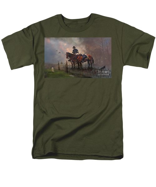 Fallen Comrade Men's T-Shirt  (Regular Fit) by Rob Corsetti