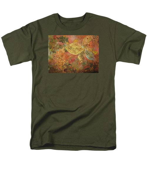 Fallen Leaves II Men's T-Shirt  (Regular Fit) by Ellen Levinson