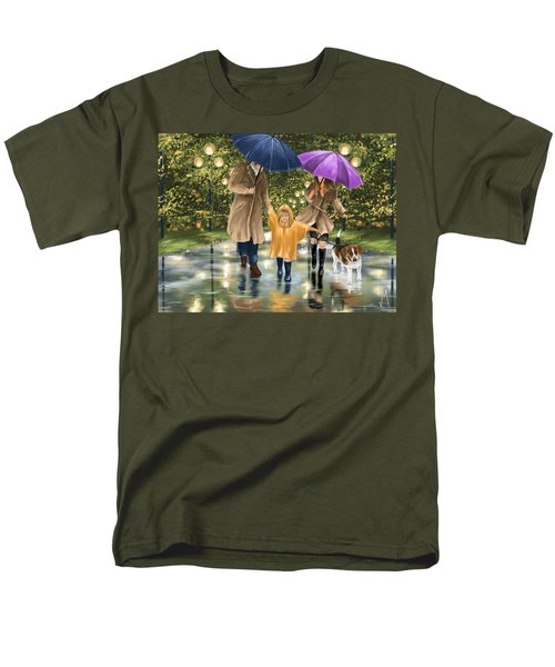 Family Men's T-Shirt  (Regular Fit) by Veronica Minozzi