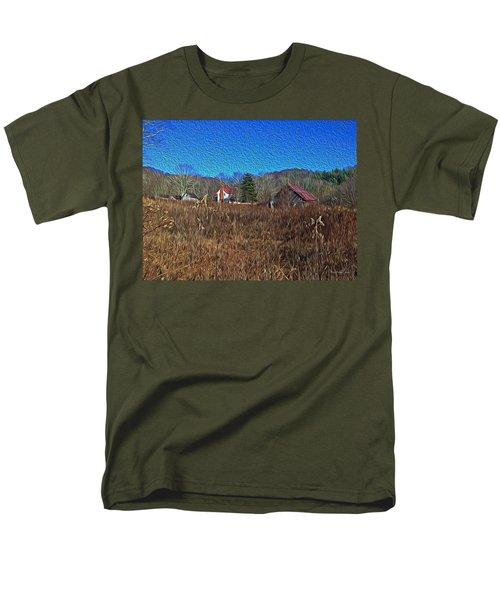 Farm House 2 Men's T-Shirt  (Regular Fit) by Tom Culver