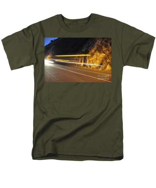 Men's T-Shirt  (Regular Fit) featuring the photograph Fast Car by Gandz Photography