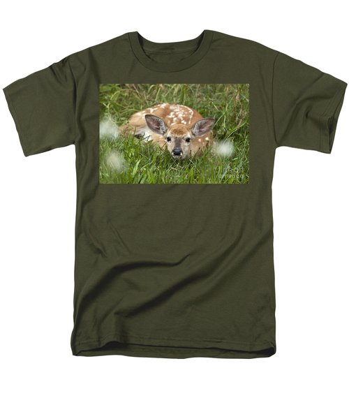 Men's T-Shirt  (Regular Fit) featuring the photograph Fawn by Jeannette Hunt