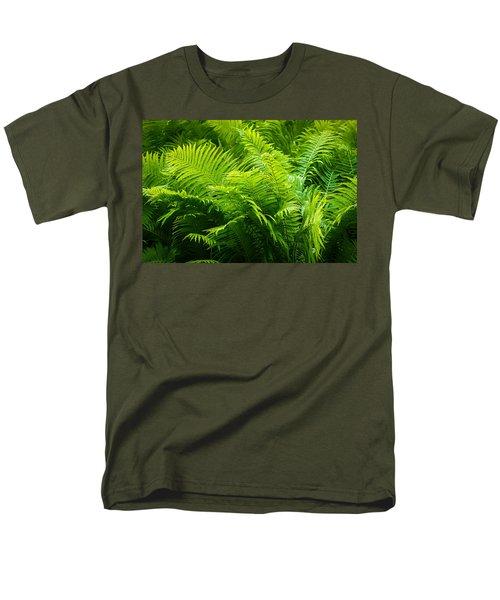 Ferns 1 Men's T-Shirt  (Regular Fit) by Alexander Senin