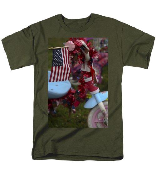 Flag Bike Men's T-Shirt  (Regular Fit) by Patrice Zinck