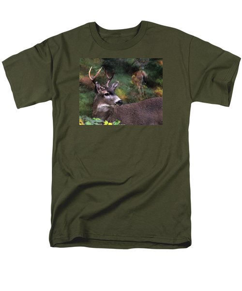 Men's T-Shirt  (Regular Fit) featuring the photograph Flirt by I'ina Van Lawick