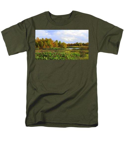 Florida Wetlands August Men's T-Shirt  (Regular Fit) by David Mckinney