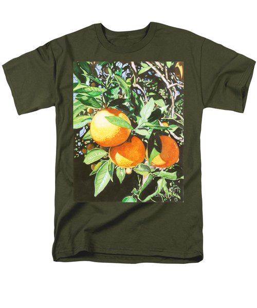 Men's T-Shirt  (Regular Fit) featuring the painting Florida's Finest by Barbara Jewell