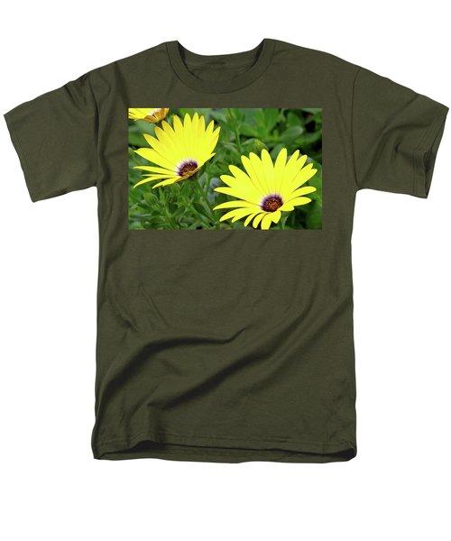 Flower Power Men's T-Shirt  (Regular Fit) by Ed  Riche