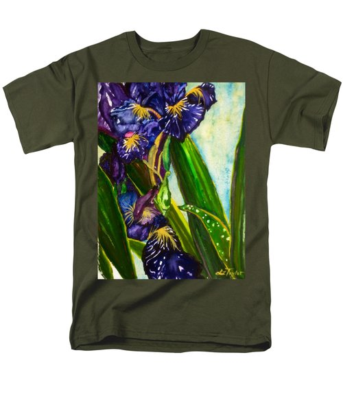 Flowers In Your Hair II Men's T-Shirt  (Regular Fit) by Lil Taylor