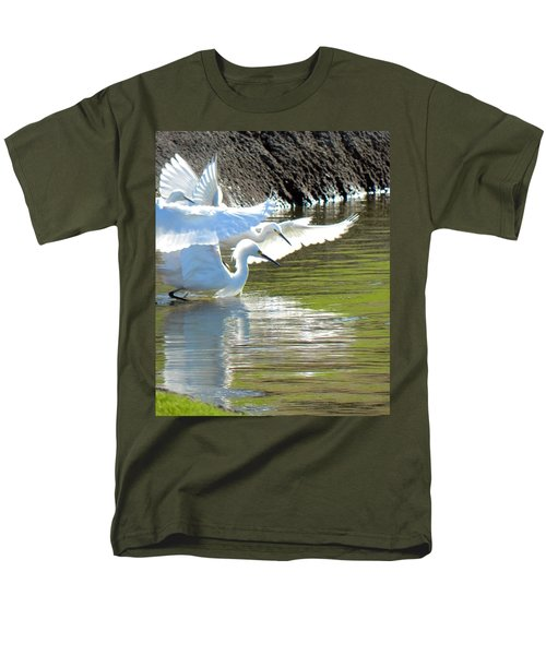 Men's T-Shirt  (Regular Fit) featuring the photograph Flurry by Deb Halloran