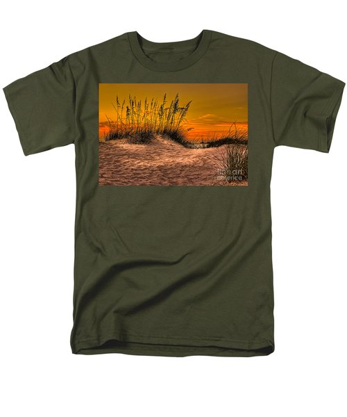 Footprints In The Sand Men's T-Shirt  (Regular Fit) by Marvin Spates