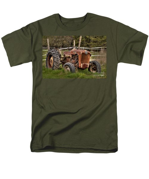Men's T-Shirt  (Regular Fit) featuring the photograph Ford Tractor by Alana Ranney