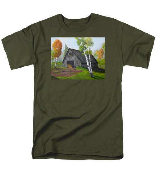 Forest Barn Men's T-Shirt  (Regular Fit) by Sheri Keith