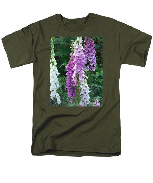 Foxglove After The Rains Men's T-Shirt  (Regular Fit) by Eunice Miller