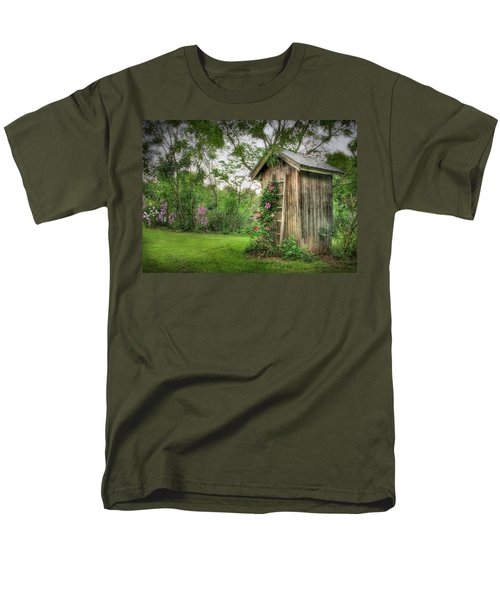 Fragrant Outhouse Men's T-Shirt  (Regular Fit) by Lori Deiter