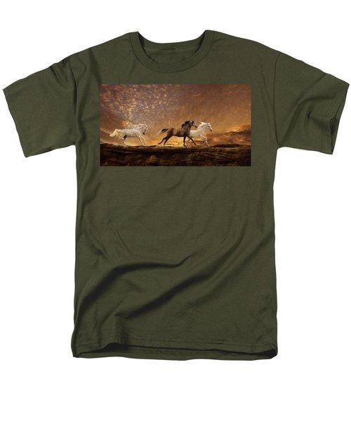 Freed Spirits Men's T-Shirt  (Regular Fit) by Melinda Hughes-Berland