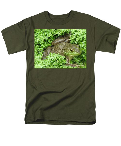 Frog Men's T-Shirt  (Regular Fit) by DejaVu Designs