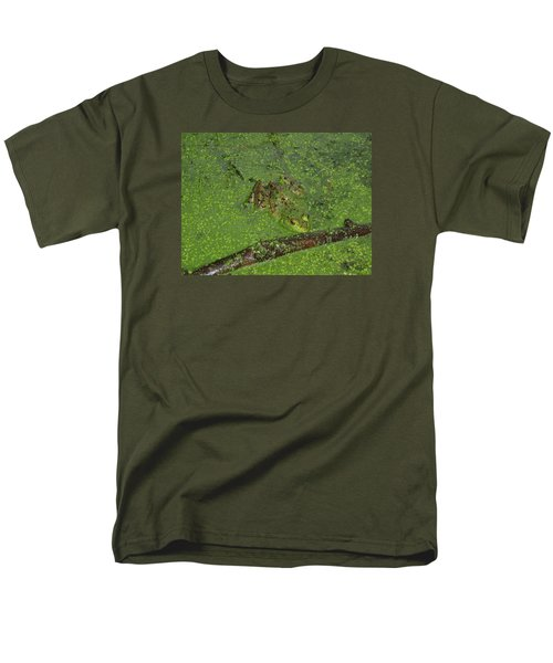 Men's T-Shirt  (Regular Fit) featuring the photograph Froggie by Robert Nickologianis