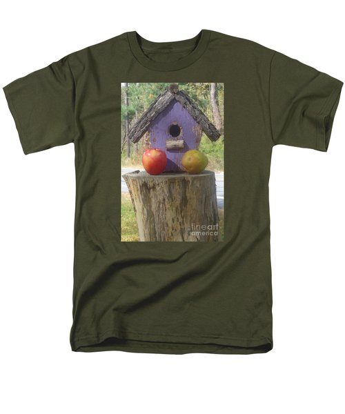 Men's T-Shirt  (Regular Fit) featuring the photograph Fruity Home? by Christina Verdgeline