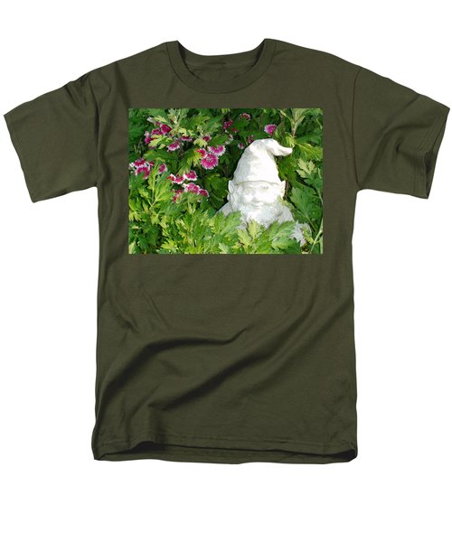 Garden Gnome Men's T-Shirt  (Regular Fit) by Charles Kraus