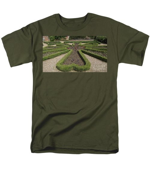 Men's T-Shirt  (Regular Fit) featuring the photograph Garden Of Peace by Tracey Williams