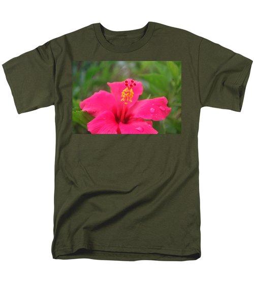 Garden Rains Men's T-Shirt  (Regular Fit) by Miguel Winterpacht