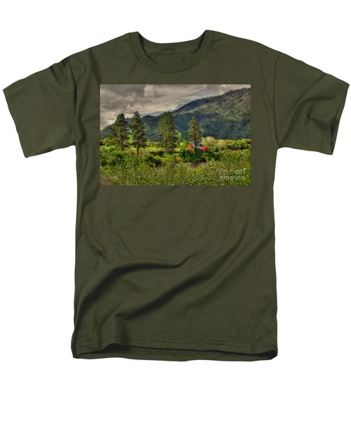 Men's T-Shirt  (Regular Fit) featuring the photograph Garden Valley by Sam Rosen