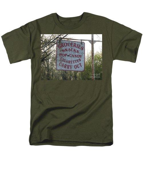 Men's T-Shirt  (Regular Fit) featuring the photograph General Store by Michael Krek