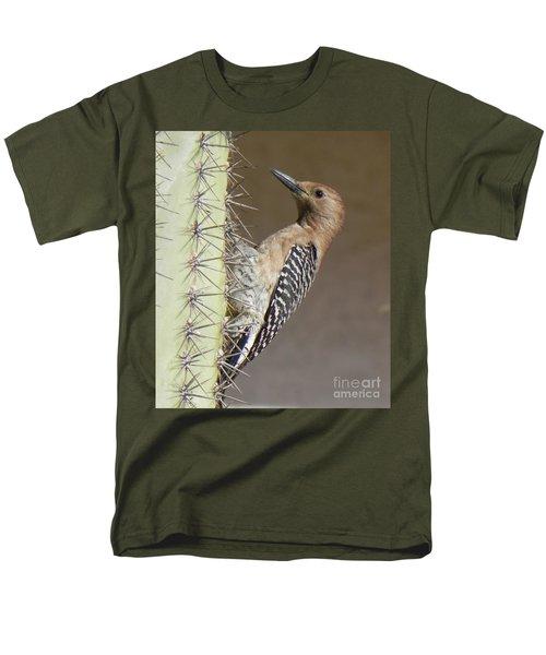 Men's T-Shirt  (Regular Fit) featuring the photograph Gila Woodpecker by Deb Halloran