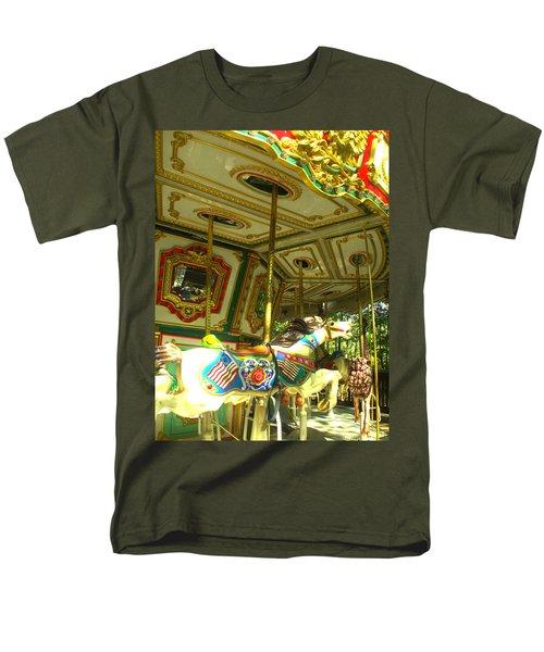 Men's T-Shirt  (Regular Fit) featuring the photograph Girls' Dream by Rachel Mirror