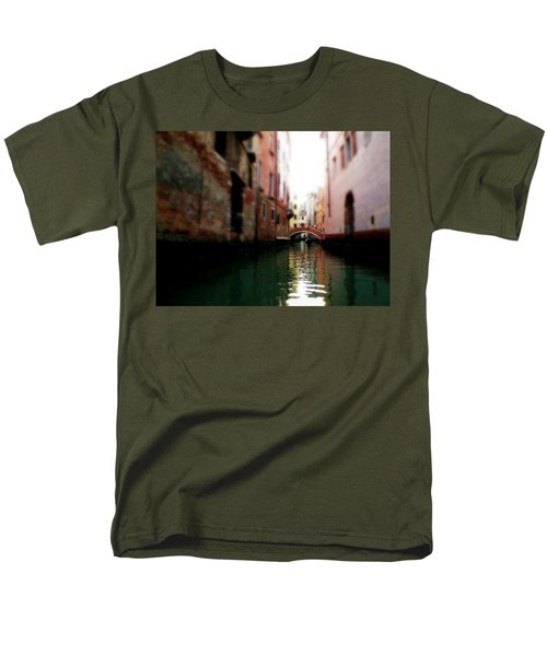 Gliding Along The Canal  Men's T-Shirt  (Regular Fit) by Micki Findlay