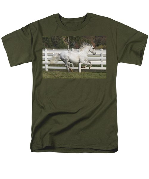 Men's T-Shirt  (Regular Fit) featuring the photograph Glorious Gunther D2972 by Wes and Dotty Weber