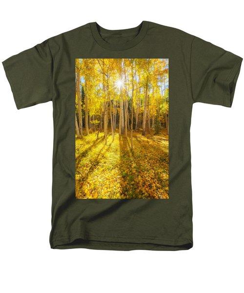 Golden Men's T-Shirt  (Regular Fit) by Darren  White
