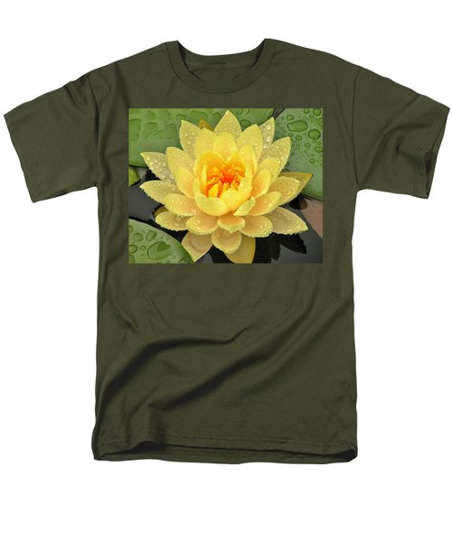 Golden Lily Men's T-Shirt  (Regular Fit)