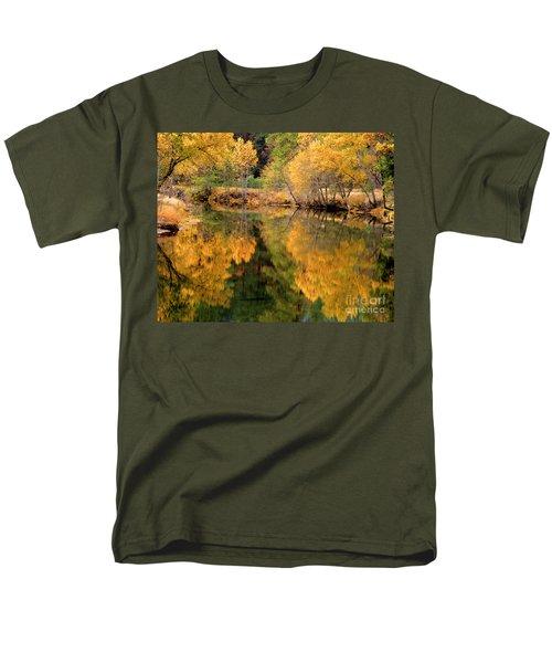 Golden Reflections Men's T-Shirt  (Regular Fit)