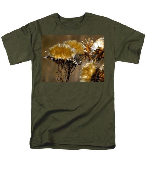 Golden Thistle Men's T-Shirt  (Regular Fit) by Bill Gallagher