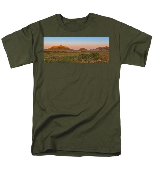 Men's T-Shirt  (Regular Fit) featuring the photograph Good Morning Badlands II by Patti Deters