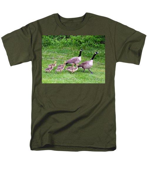 Goose Step Men's T-Shirt  (Regular Fit)