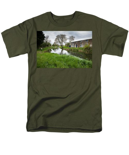 Grand Canal At Miltown Men's T-Shirt  (Regular Fit) by Ian Middleton