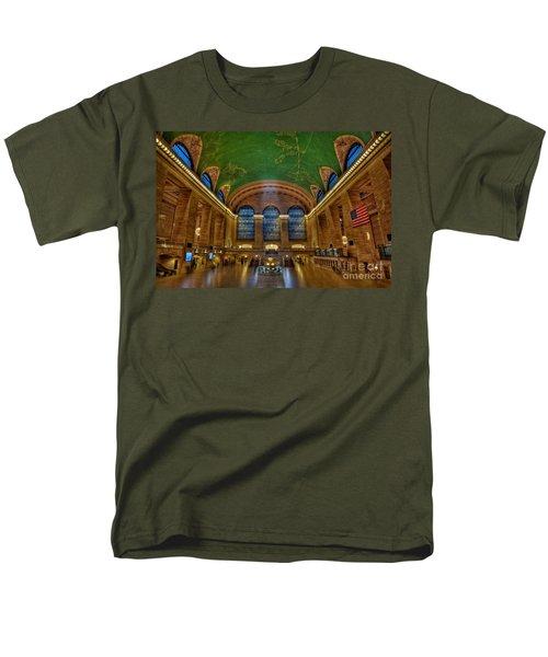 Grand Central Station Men's T-Shirt  (Regular Fit) by Susan Candelario