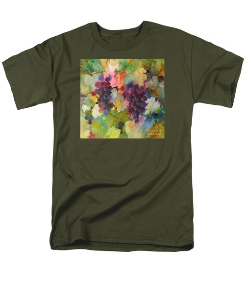 Grapes In Light Men's T-Shirt  (Regular Fit) by Michelle Abrams