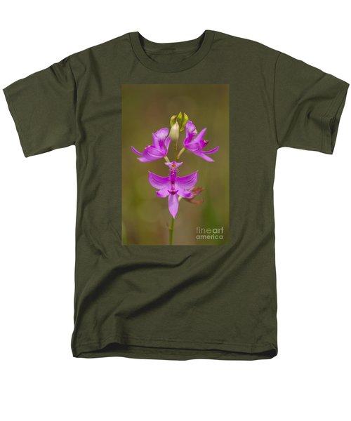 Grasspink #1 Men's T-Shirt  (Regular Fit) by Paul Rebmann
