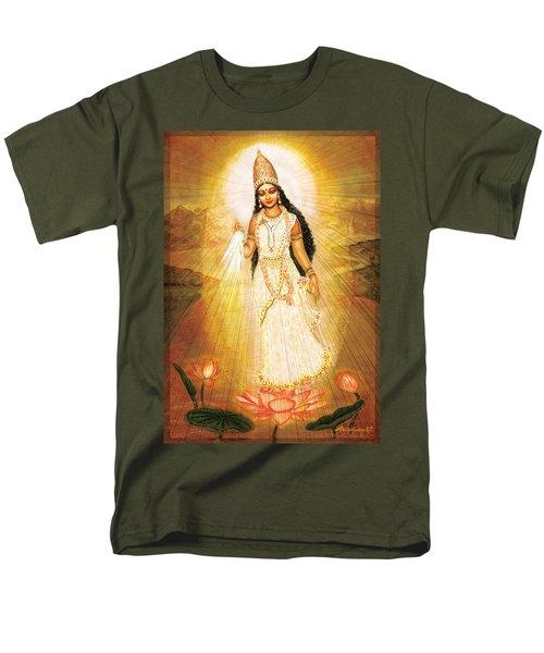Great Mother Goddess Men's T-Shirt  (Regular Fit) by Ananda Vdovic