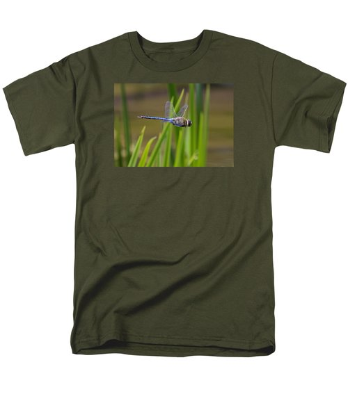 Green Darner Flight Men's T-Shirt  (Regular Fit) by David Lester