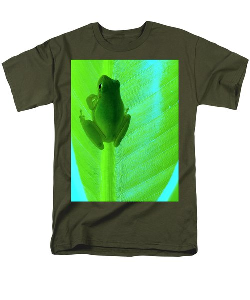 Men's T-Shirt  (Regular Fit) featuring the photograph Green Day by Faith Williams