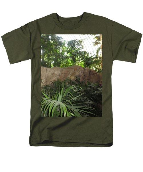 Green Interiors Vegas Casinos Resorts Hotels Men's T-Shirt  (Regular Fit) by Navin Joshi